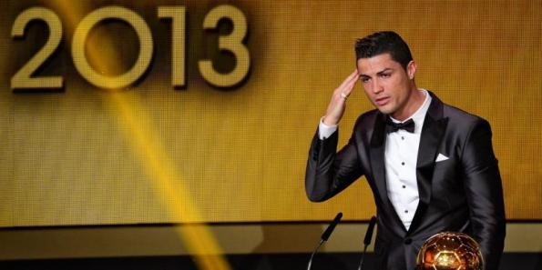 Respect Ronaldo Setelah memenangi  Ballon D'or 2013