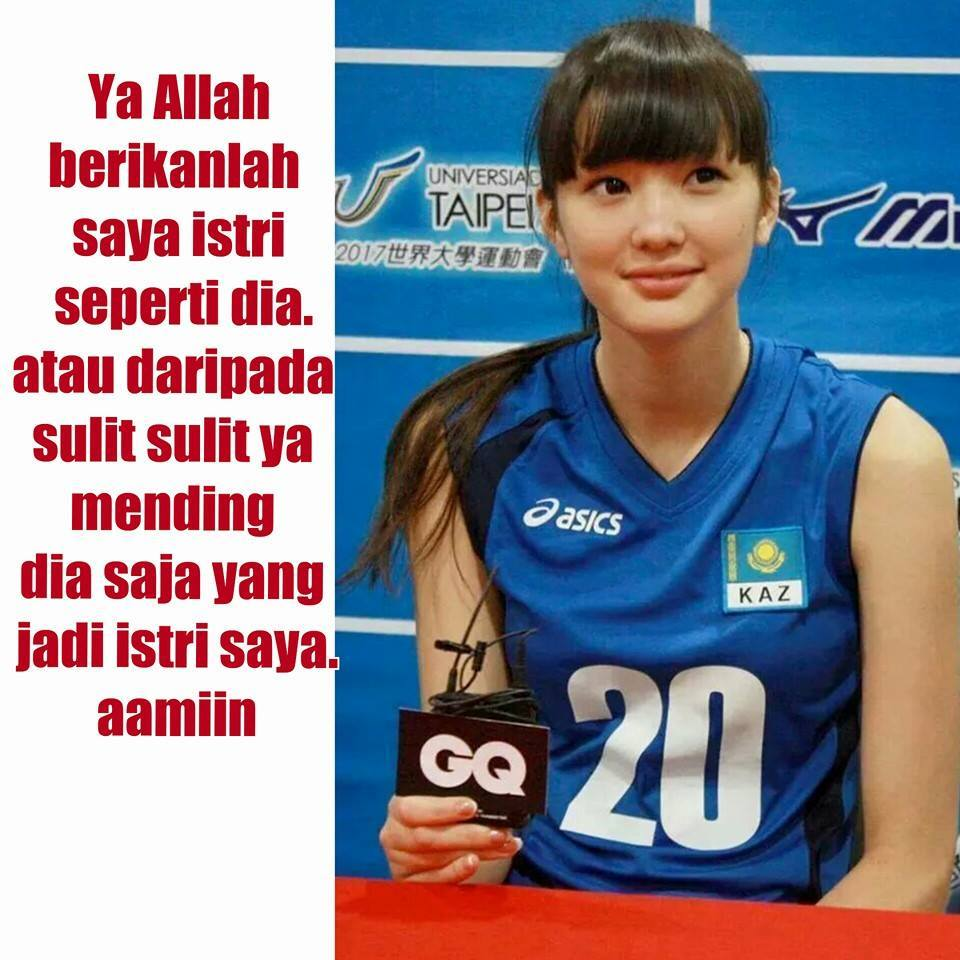 Ini Dia Kumpulan Meme Kocak Dan Imut Sabina Altynbekova Www